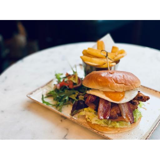 Bolero Chicken club burger